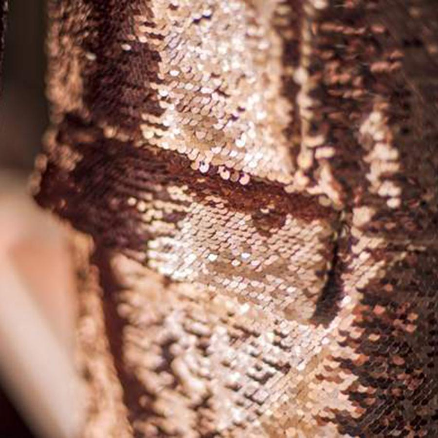 Copper Sequin Jacket for Women