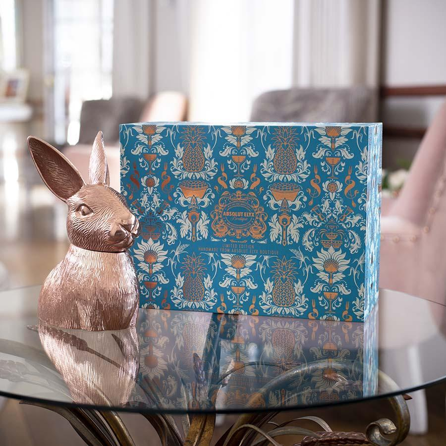 Copper Rabbit Gift Box Handmade Limited Edition