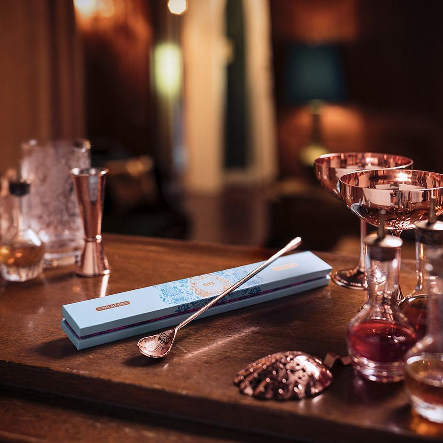 Copper Bar Spoon Gift Box