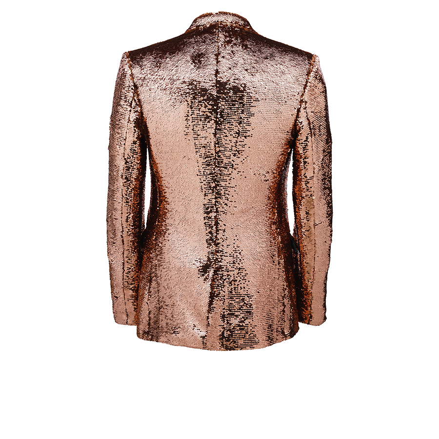 Copper Sequin Jacket for Men