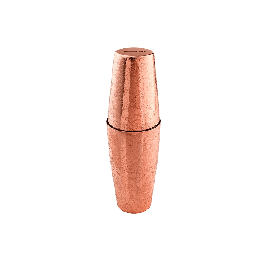 2-piece Copper Cocktail Shaker Gift Box