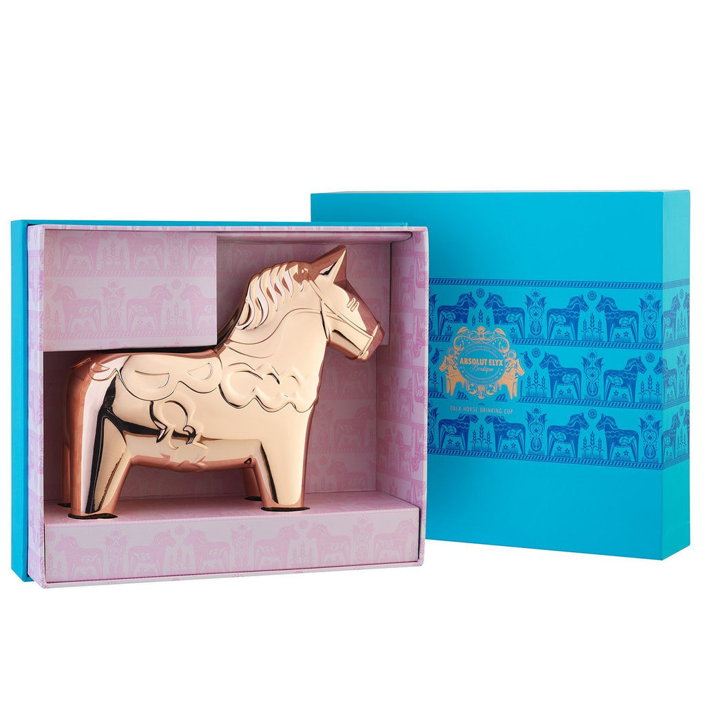 Copper Dala Horse Gift Box