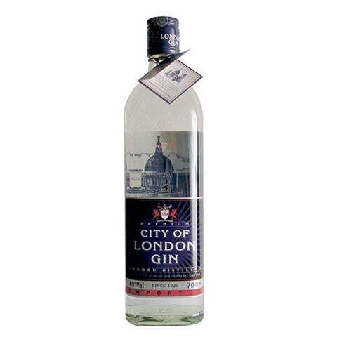 City Of London Dry Gin 40° 70Cl - Ginsonline - Gin
