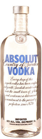 Absolut Vodka 1ltr 40° - Drankenxl