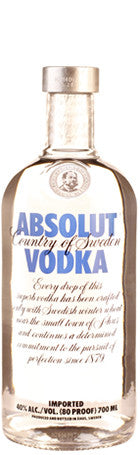 Absolut Vodka 70cl 40° - Drankenxl