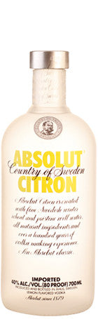 Absolut Citron 70cl 40° - Drankenxl