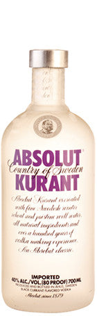 Absolut Kurant 70cl 40° - Drankenxl