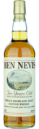 Ben Nevis 10 years Single Malt 70cl 46° - Drankenxl