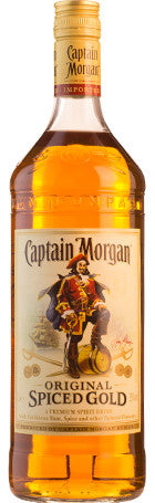 Captain Morgan Spiced Gold 1ltr 35° - Drankenxl