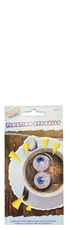 Floating Eye Balls