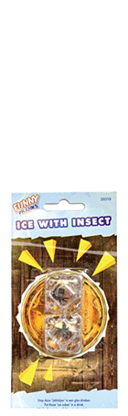Ice Cubes With Insect