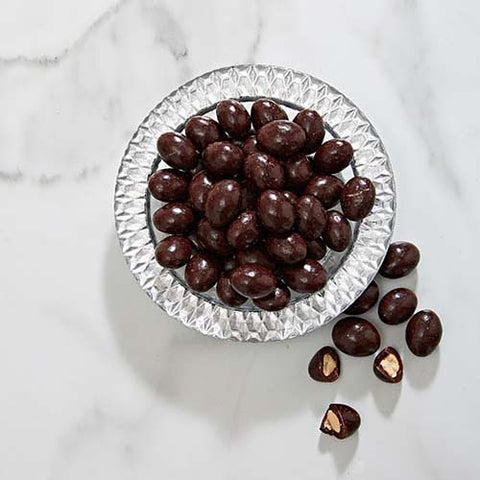 Dark Chocolate Coated Almonds - Vegan - Gluten Free - Dairy free