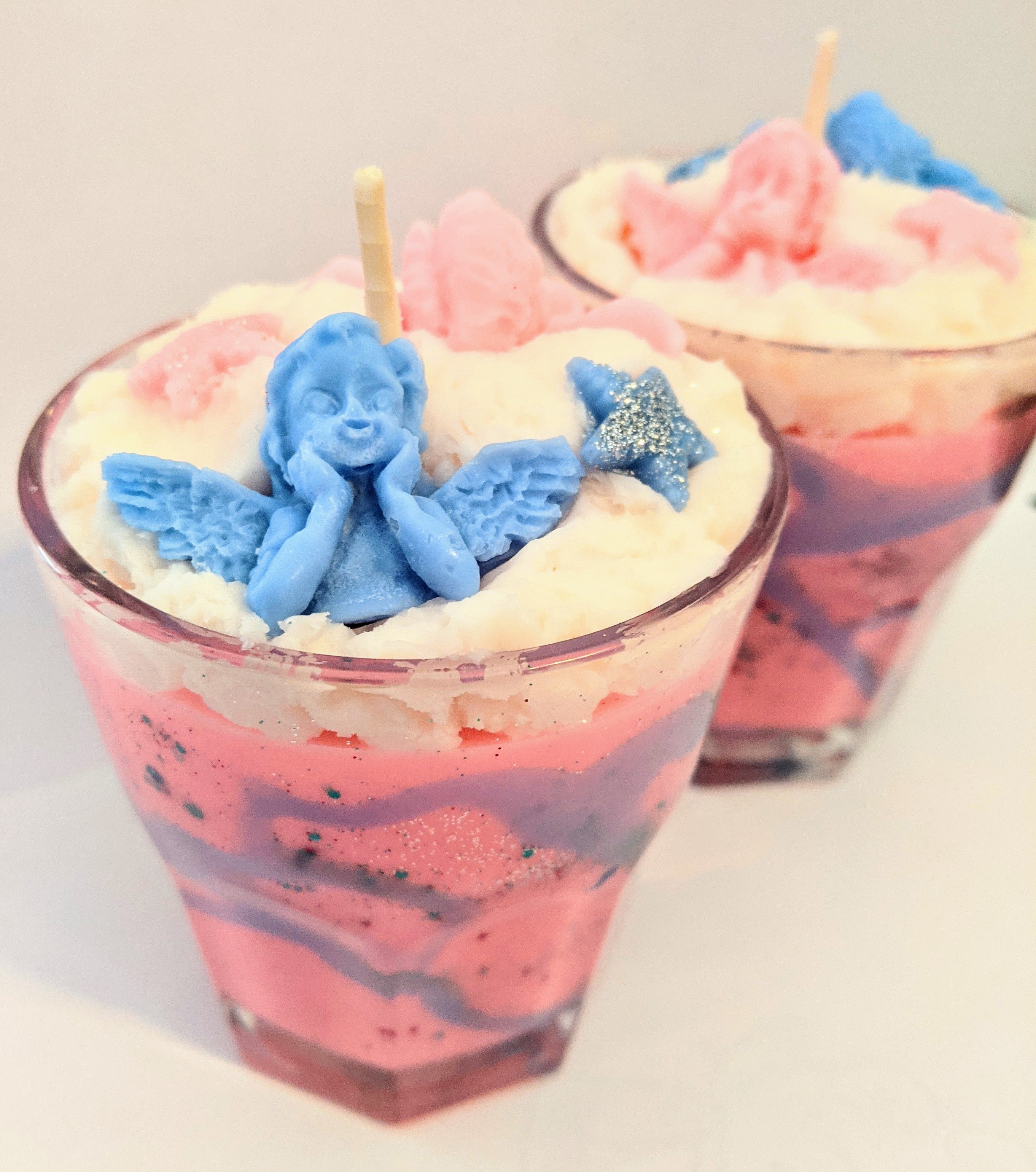 Snow Fairy Candle
