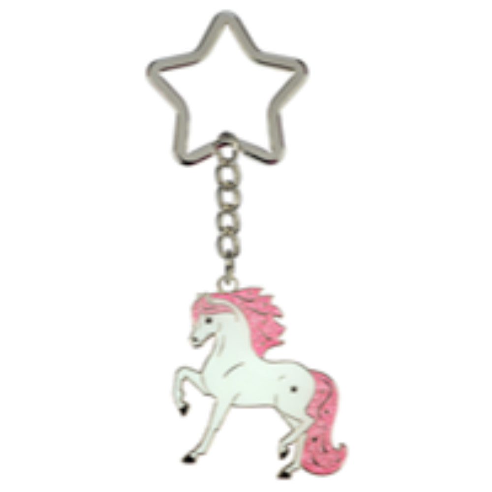 Happy Ross Whitestar Action Keyring