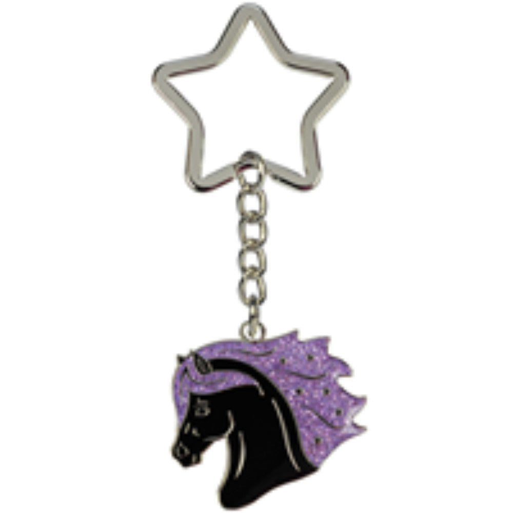 Blackstar Head Keyring