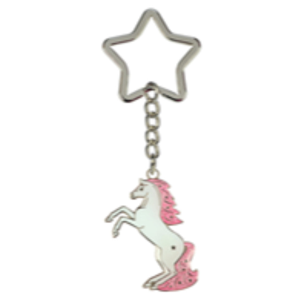 Happy Ross Whitestar Rearing Keyring