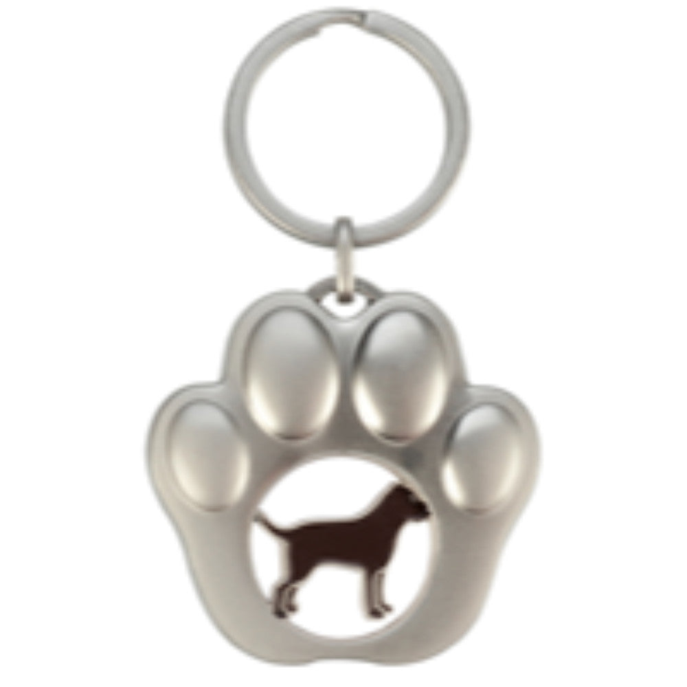 Happy Ross Paw Trolley Coin Keyring