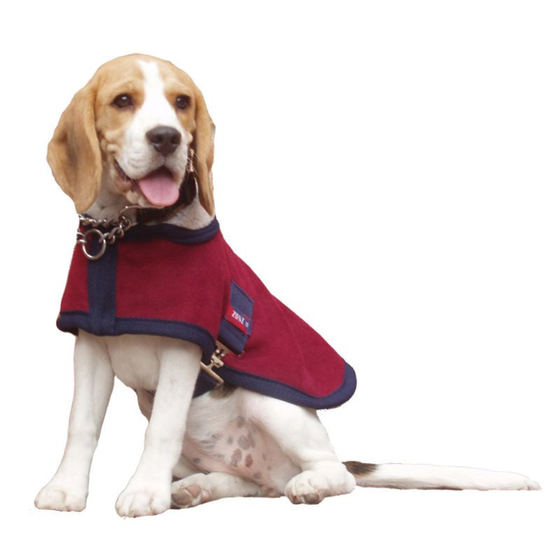 Comfort Zone Lapel Dog Coat - Connemara Horse & Country