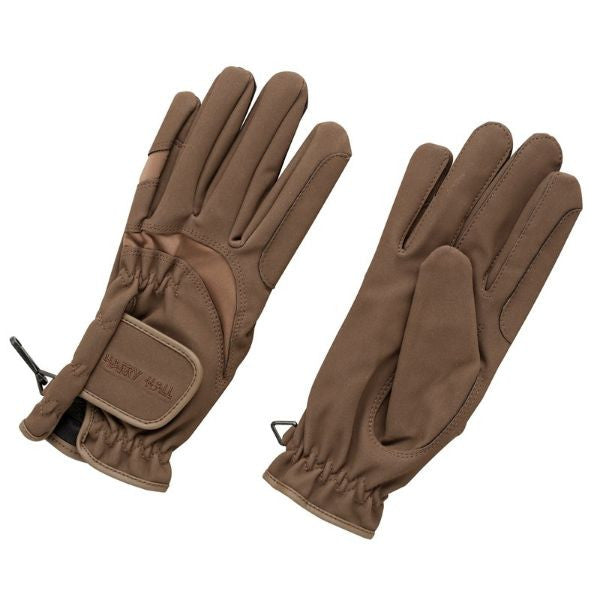 Harry Hall Domy Suede Glove - Connemara Horse & Country - 2