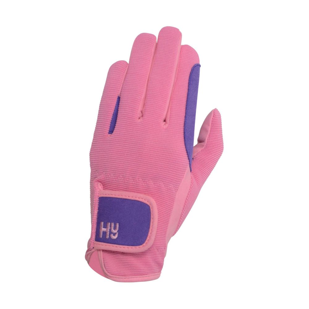 Hy5 Children's Two Tone Riding Gloves
