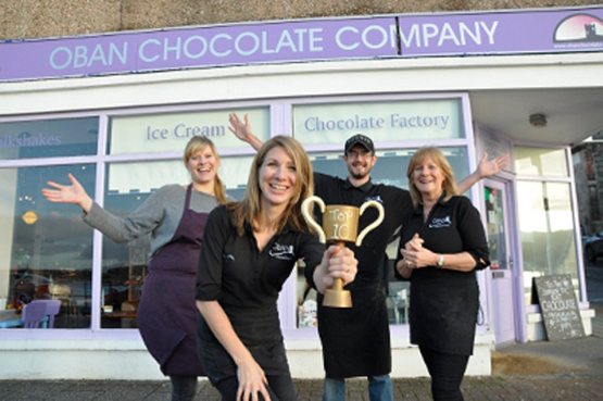 About Us Oban Chocolate Company