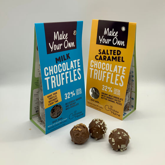 Chocolate truffle making kit