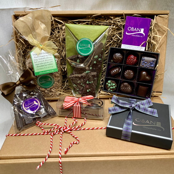 Dairy & Gluten Free Chocolate Hamper (vegan)
