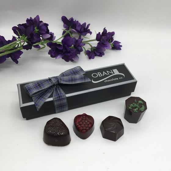 Vegan 4 choc gift box
