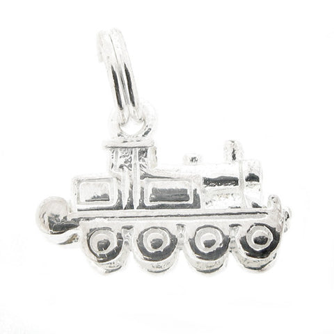Accessories - Train charm in silver  - PA Jewellery