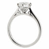 Brilliant cut diamond solitaire ring in platinum, 1.35ct