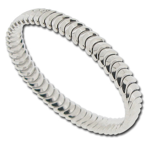 Wristwear - Armillas bangle in 18ct white gold  - PA Jewellery