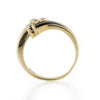 Ring - Diamond 'spray' dress ring in 9ct yellow gold  - PA Jewellery