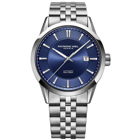 Men's Raymond Weil Freelancer in stainless steel 2731-ST-50001