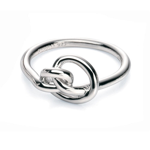 Ring - Knot ring in silver  - PA Jewellery