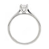 Ring - Emerald cut diamond solitaire ring in platinum, 0.40ct  - PA Jewellery