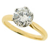 Rings - Diamond solitaire ring, 1.18ct. 18ct gold & platinum  - PA Jewellery