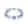 CHALCEDONY CUBE NECKLACE - 4017/10-0720