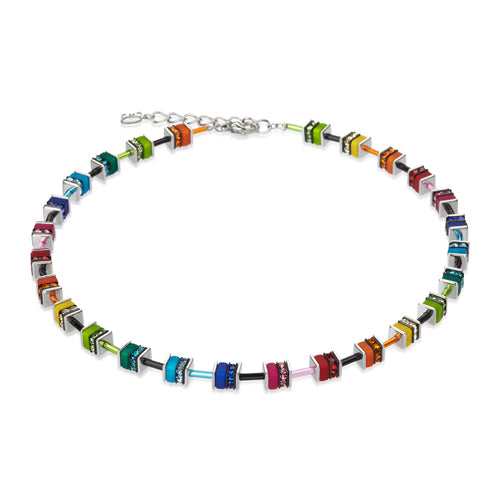 MULTICOLOUR CUBE NECKLACE – 4409/10-1500