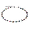 MULTICOLOUR, PASTEL CUBE NECKLACE - 4409/10-1522