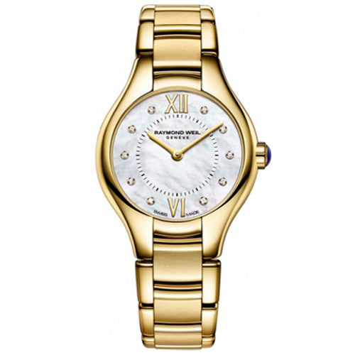 Watch - Ladies' Noemia in yellow PVD plated stainless steel 5124-P-00985  - PA Jewellery
