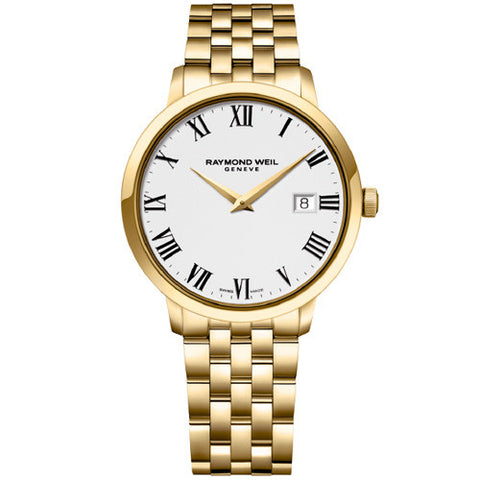 Watch - Men's Toccata in yellow PVD plated stainless steel 5488-P-00300  - PA Jewellery