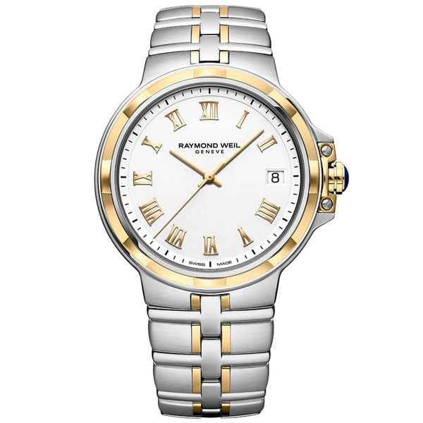 Raymond Weil Parsifal in stainless steel and yellow PVD 5580-STP-00308