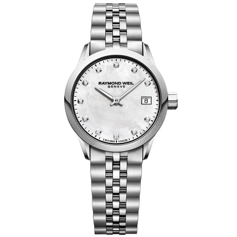 Ladies' Raymond Weil Freelancer in stainless steel 5626-ST-97081