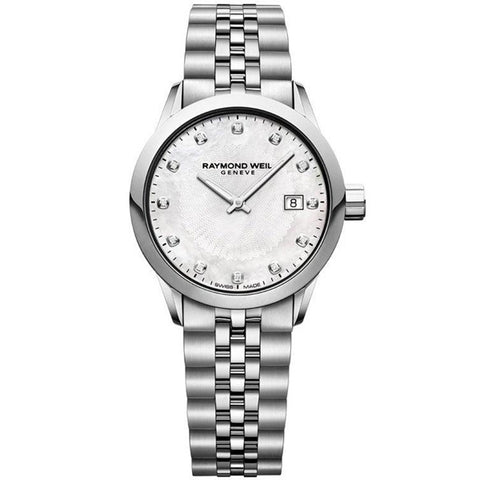 Ladies' Raymond Weil Freelancer in stainless steel 5629-ST-97081
