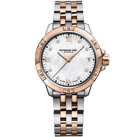 Ladies' Raymond Weil Tango in two tone stainless steel 5960-SP5-00995