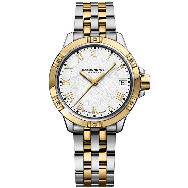 Ladies' Raymond Weil Tango in two tone stainless steel 5960-STP-00308