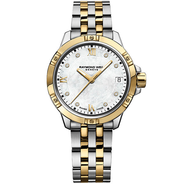 Ladies' Raymond Weil Tango in two tone stainless steel 5960-STP-00995