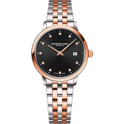 Ladies' Raymond Weil Toccata in two tone stainless steel 5985-SP5-20081