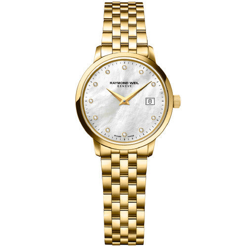 Watch - Ladies' Toccata in yellow PVD plated stainless steel 5988-P-97081  - PA Jewellery