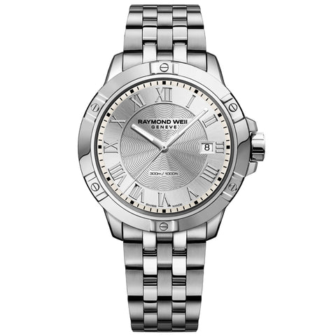 Men's Raymond Weil Tango in stainless steel 8160-ST-00658